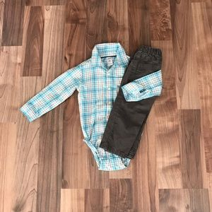 Toddler boy outfit.